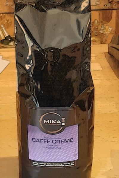 Kaffee Creme frisch gröstet