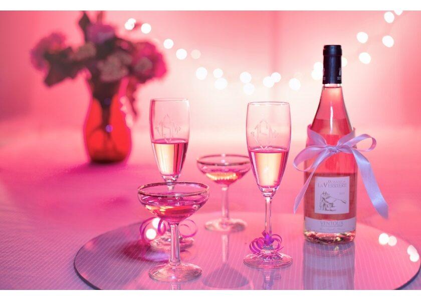 Rose-Champagner