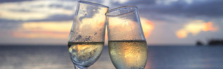 Champagner genießen