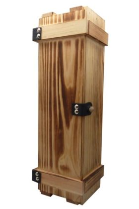 Holzschatulle für 1 Flasche