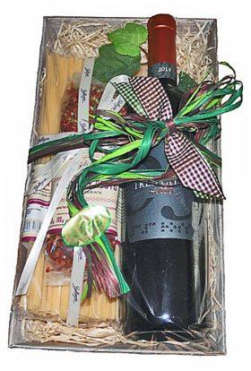 Geschenkset Italien mit hochwertigen Produkten zum sofort genießen!
