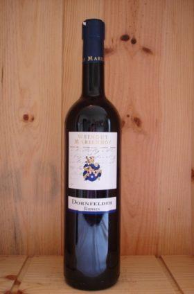 Rotwein lieblich Dornfelder