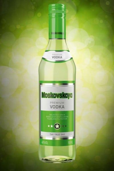 Moskovskaya Premium Vodka aus Russland