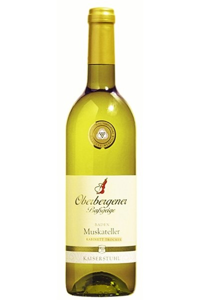 Oberbergener Bassgeige Muskateller Weißwein