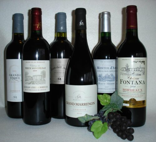 Weinpaket Frankreich rot trocken
